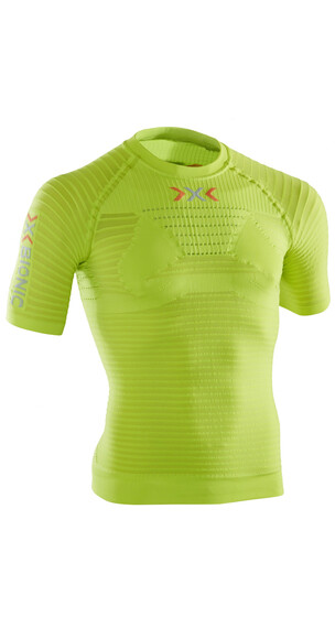 X-Bionic Effektor Powershirt Hardloopshirt korte mouwen Heren groen